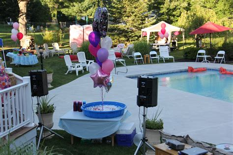 sweet 16 backyard ideas backyard sweet 16 center event rental