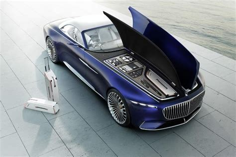 cars electric mercedes maybach 6 cabriolet concept car