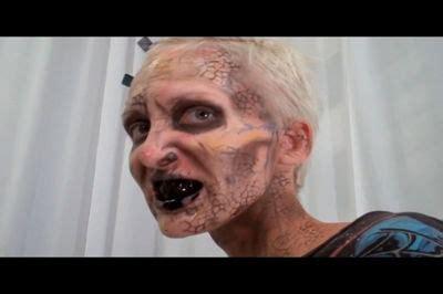 zombie mask tutorial zombie makeup tutorial mardi gras costume shop