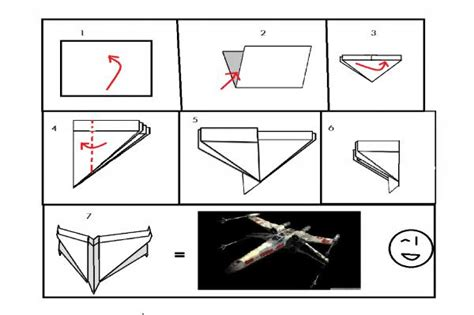 simple x wing origami intructions origami yoda