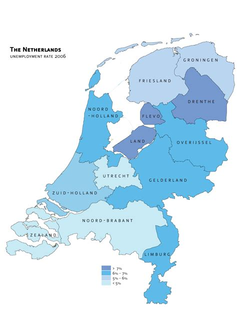 netherlands map major cities file netherlands unemployment png wikimedia commons