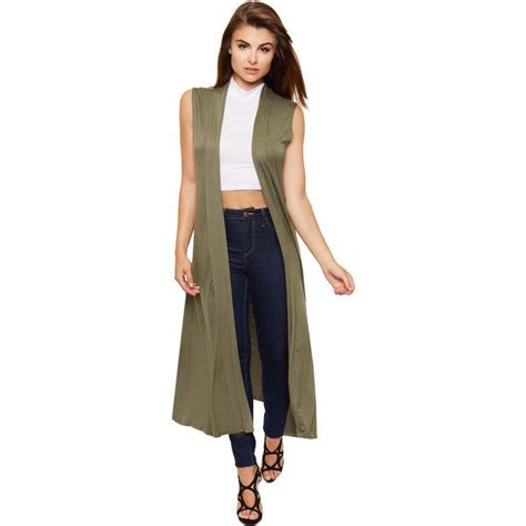 sleeveless draped cardigan best 25 sleeveless cardigan ideas on pinterest style