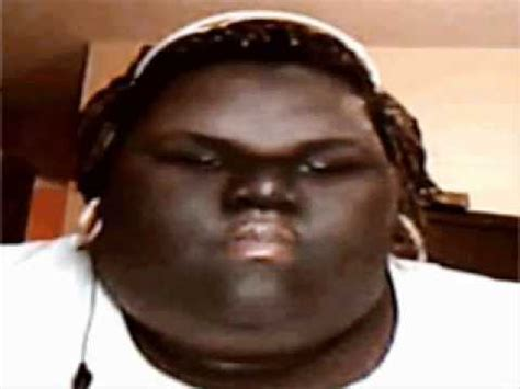 fat black ugly people fat girl chews gum while i play unfitting music youtube