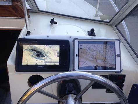 ipad mount for gps display tallon the hull truth - Boat Gps For Ipad