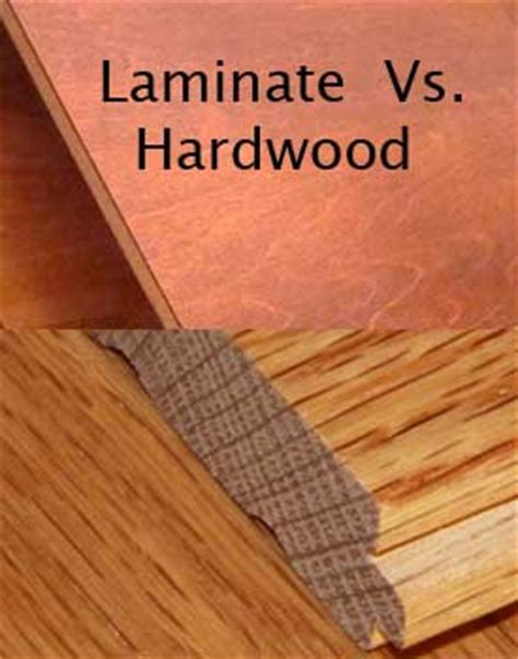 hardwood floor vs laminate hardwood floors versus laminate floors compare facts