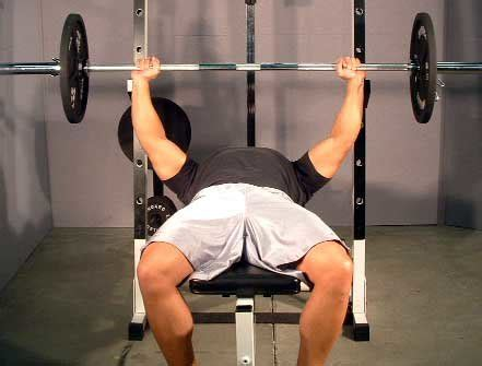 bench press wide grip training the detail muscles with isolation exercises to