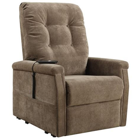 recliners montreal pri prime resources montreal fabric recliner in brown ds