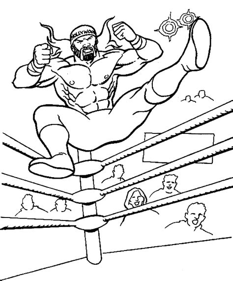Wrestler Coloring Pages Wrestling Coloring Pages For Kids Coloringpagesabc Com
