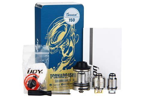Replacement Glass For Ijoy Tornado 150 Rba Rda Vapor Tank Rdta Mod 1 ijoy tornado 150 sub ohm rta tank 4 2ml