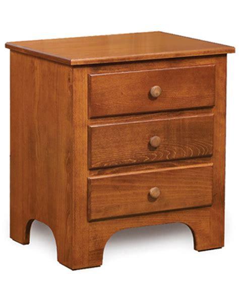 Horizon Shaker Nightstand Amish Crafted - ridgecrest shaker nightstand amish direct furniture