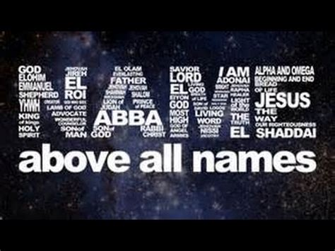 i am god by any other name keith burnett ministries name above all names the great i am eternal god judge