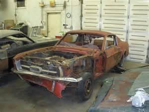 1967 For Sale Rusting Mustangs 187 1967 Mustang Fastback 390gt For Sale04