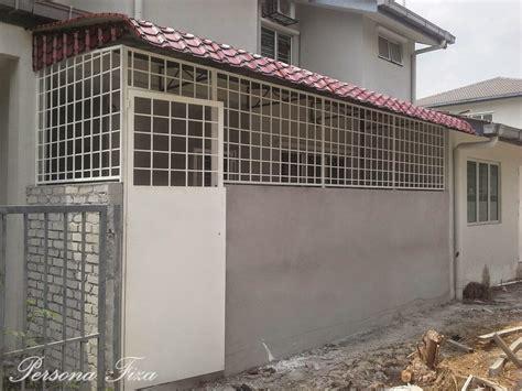 design extend dapur extend dapur lantai tembok grill awning