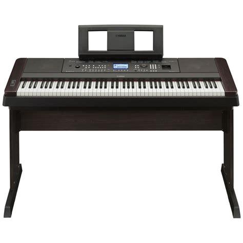 Keyboard Yamaha Portable Grand yamaha portable grand dgx650 digital piano black at