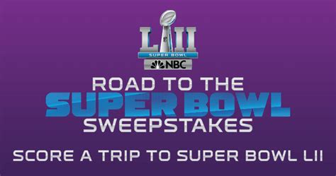 Nbc Giveaway - nbc road to the super bowl sweepstakes