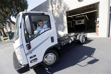 electric company truck tesla trucks sort of co founder in ambitious electric
