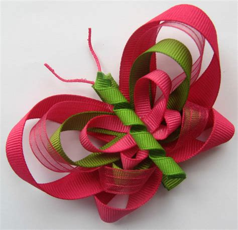 Handmade Hair Bow - tuesday s treasury showcase judy nolan