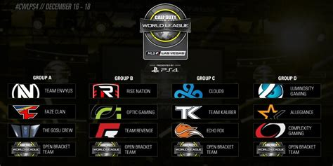 league play overview call of duty world league mlg vegas first 2017 season cwl open event takes place
