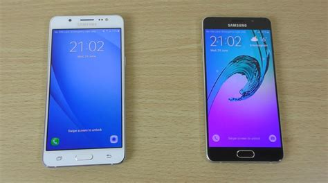 Samsung A3 Vs J5 samsung galaxy j5 2016 vs a5 2016 speed comparison phim22