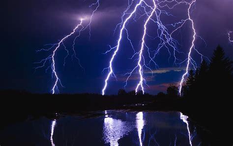 Lightning Blue Blue Lightning Hd Desktop Wallpapers 1080p