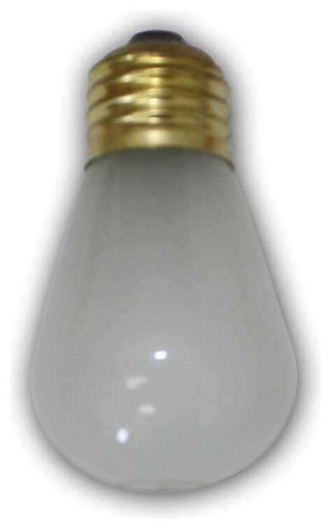 medium size frosted light bulb modern incandescent