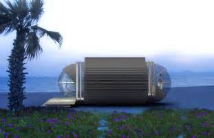 Ultra Modern Home Design The Drop Eco Hotel Is A Portable Prefab Pod Home For The