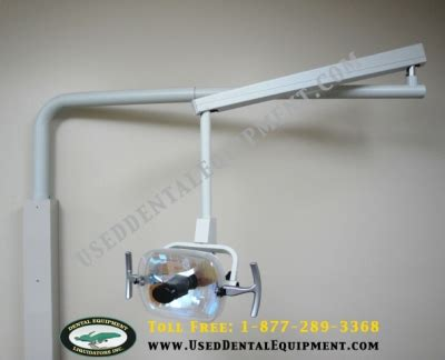 Adec 6300 Light Bulb - a dec cabinet mounted dental light