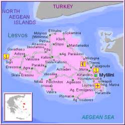 Lesvos Greece Map by Aegean Islands Lesvos Greece Travel Page Presend The