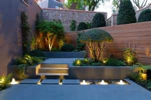 Small Garden Lighting Ideas Modern Garden Designs For Great And Small Outdoors