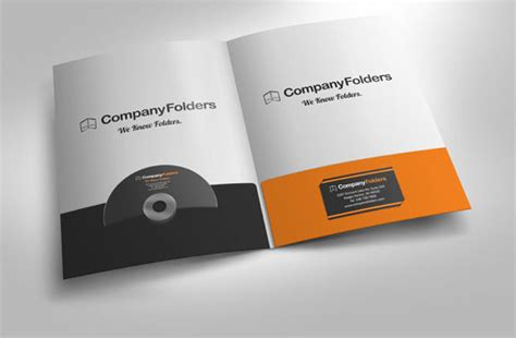 21 Presentation Folder Mockup Psd Download Design Presentation Folder Psd