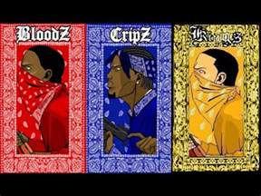 crips and bloods colors bloods vs crips vs gangs war