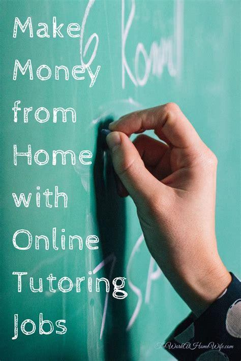 Make Money Tutoring Online - best 20 online tutoring ideas on pinterest online teaching jobs tutoring business