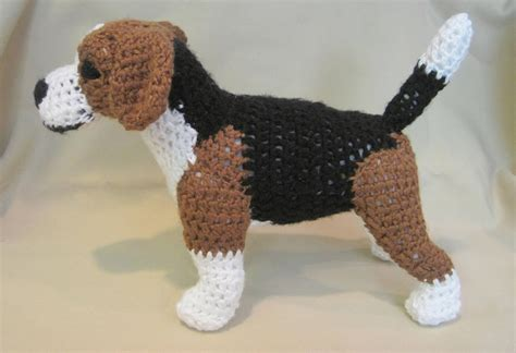 crochet pattern only beagle pdf crochet pattern digital download english