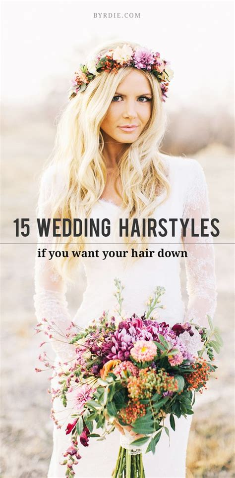 15 gorgeous ways to wear your hair for your wedding bridal weddings