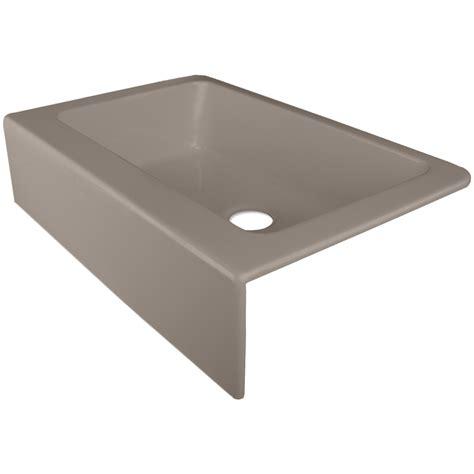 Corstone Kitchen Sinks Shop Corstone Primrose Gloss Thunder Gray Single Basin