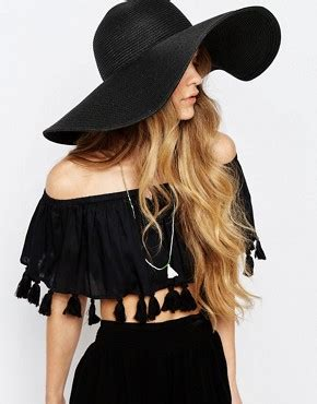 Asos Basic Straw Trilby Hat s hats beanies headbands winter hats asos