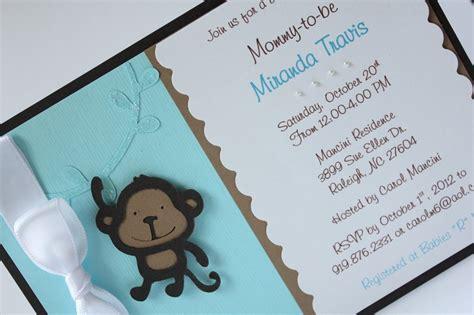 Handmade Baby Boy Shower Invitations - the world s catalog of ideas