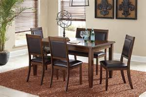 6 Piece Dining Room Set by Meredy Brown 6 Piece Dining Room Set D395 325 Ashley
