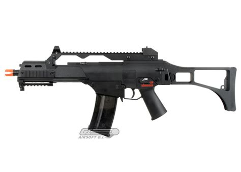 h k g36c airsoft gun by kwa black by elite umarex usa airsoft gi largest airsoft