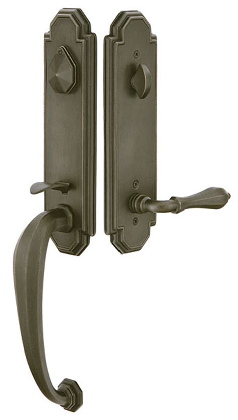 emtek door hardware emtek door hardware emtek octagon entrance handleset