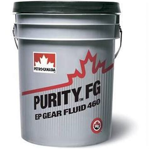 Purity Fg Grease 00 purity fg ep gear fluids 100 150 220 320 460 food