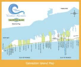 map of galveston island gary greene vacation rentals galveston vacation rentals