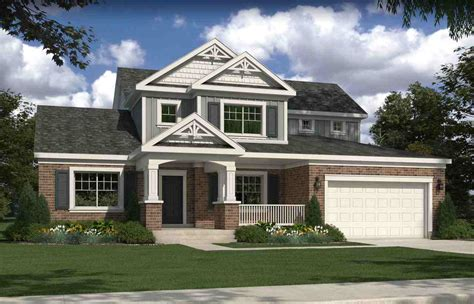 traditional house rendering