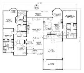 House Plans With Inlaw Suite On First Floor country home plan four bedrooms plan 153 1806
