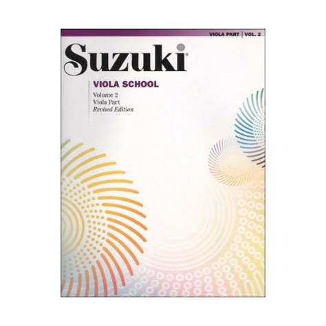 Suzuki Books Suzuki Viola School Books 1 To 10 The Violin Channel Store