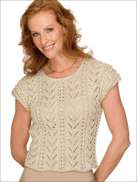 patterned sleeve knit top free sleeved sweater knitting patterns rich fronds