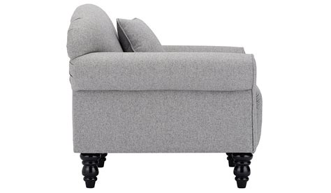 asda direct armchairs george home elliott armchair in woollen blend home