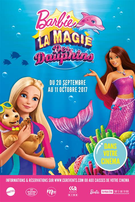 film barbie gratuit en streaming barbie et la magie des dauphins cgr events film 2017