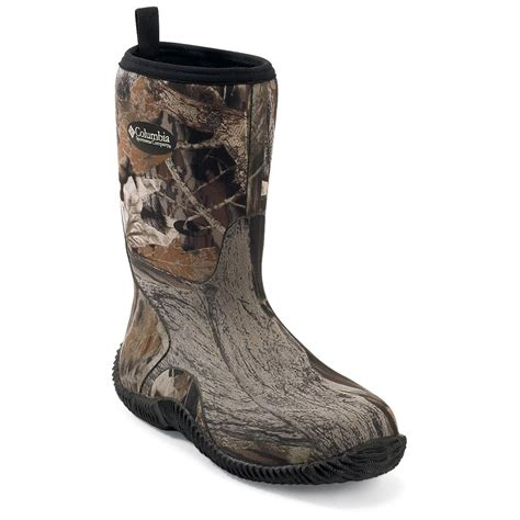 s columbia 174 duck club plus series mid boots 156313