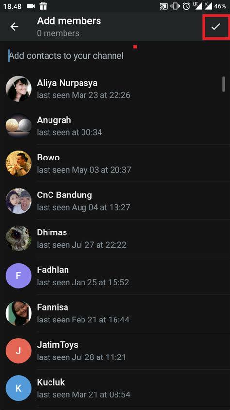 cara membuat bot di telegram cara membuat channel di telegram inwepo